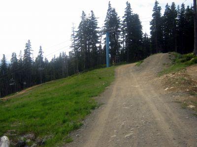 Mt. Washington Fly Zone, Main course, Hole 3 Tee pad