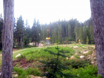 Mt. Washington Fly Zone, Main course, Hole 7 Putt