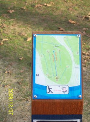 Bowen Park, Main course, Hole 11 Short tee pad