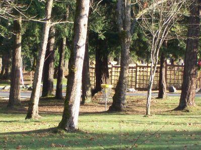 Bowen Park, Main course, Hole 2 Short tee pad