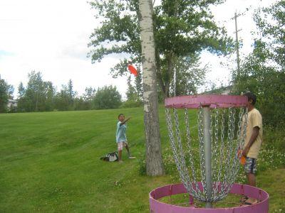 Rainbow Park, Main course, Hole 2 Putt