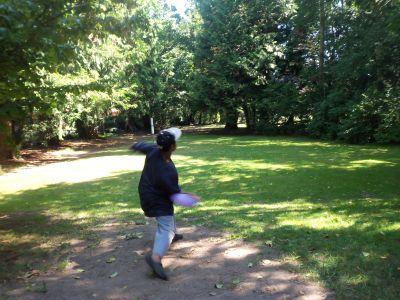 Winskill Park, Main course, Hole 4 Tee pad