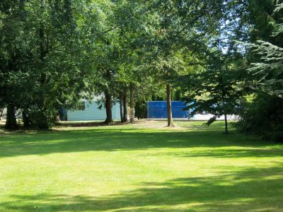 Winskill Park, Main course, Hole 9 Tee pad