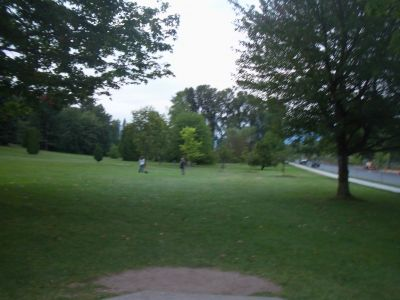 Little Mountain at Q.E. Park, Main course, Hole 5 Tee pad
