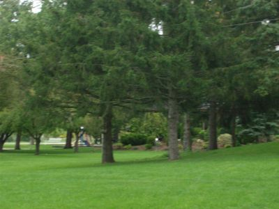 Optimist / Kinsmen Park, Main course, Hole 1 Midrange approach