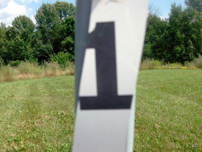 Loyalist College, Main course, Hole 1 Hole sign
