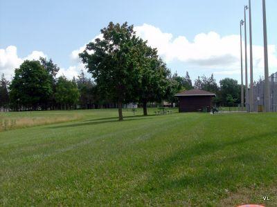 Loyalist College, Main course, Hole 9 Long tee pad