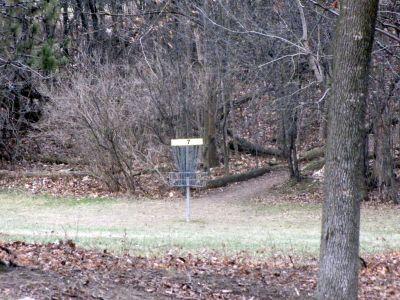 White Spruce Park, Main course, Hole 7 Short approach