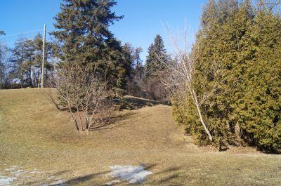 White Spruce Park, Main course, Hole 13 Tee pad