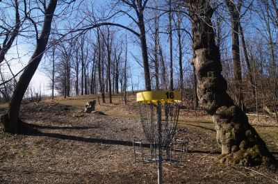 White Spruce Park, Main course, Hole 16 Reverse (back up the fairway)