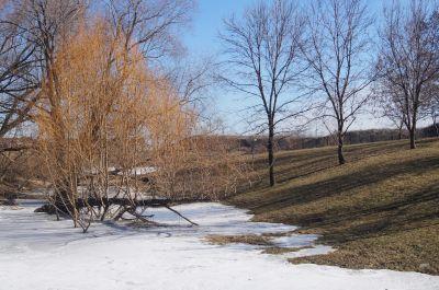 White Spruce Park, Main course, Hole 17 Short approach