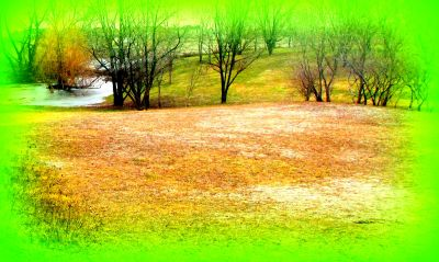 White Spruce Park, Main course, Hole 17 Short tee pad