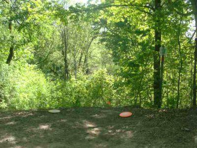 White Spruce Park, Main course, Hole 12 Short tee pad