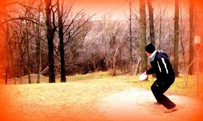White Spruce Park, Main course, Hole 16 Short tee pad