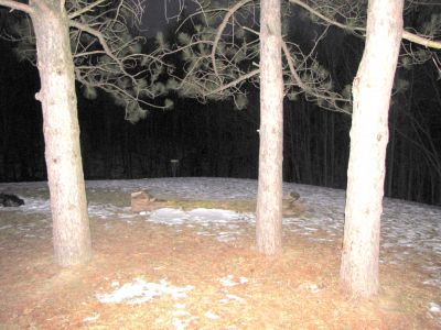 White Spruce Park, Main course, Hole 1 Short approach
