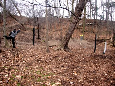 White Spruce Park, Main course, Hole 6 Putt