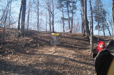 White Spruce Park, Main course, Hole 11 Putt