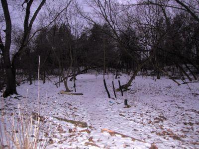 White Spruce Park, Main course, Hole 3 Midrange approach