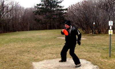 White Spruce Park, Main course, Hole 1 Long tee pad
