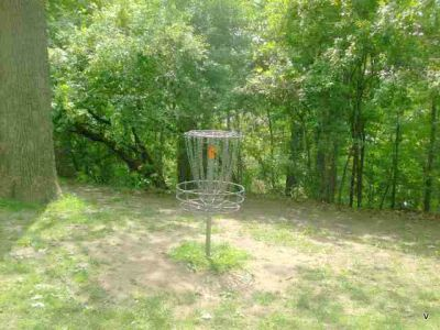 Mohawk DGC, Main course, Hole 13 Short tee pad