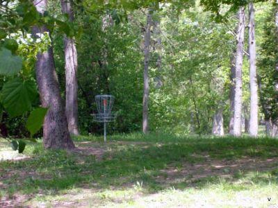 Mohawk DGC, Main course, Hole 15 Short tee pad