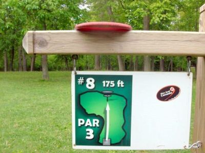 Mohawk DGC, Main course, Hole 8 Short tee pad