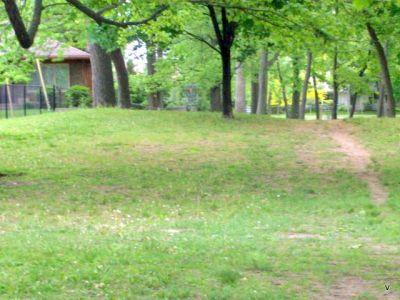 Mohawk DGC, Main course, Hole 4 Short tee pad