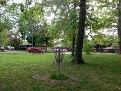 Mohawk DGC, Main course, Hole 7 Short tee pad