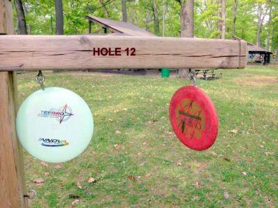 Mohawk DGC, Main course, Hole 12 Long approach