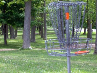 Mohawk DGC, Main course, Hole 18 Short tee pad