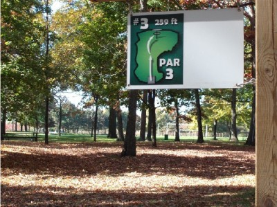 Mohawk DGC, Main course, Hole 3 Hole sign