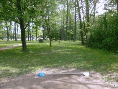 Mohawk DGC, Main course, Hole 13 Short tee pad