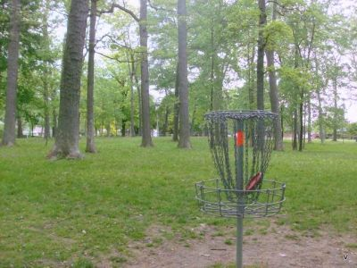 Mohawk DGC, Main course, Hole 6 Short tee pad
