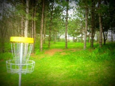 Christie Lake Conservation Area, Main course, Hole 18 Reverse (back up the fairway)
