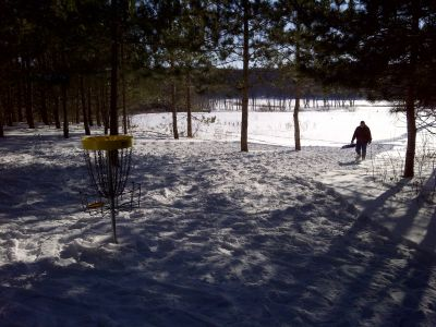 Christie Lake Conservation Area, Main course, Hole 1 Putt