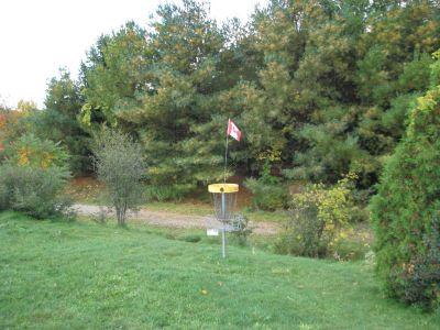 Christie Lake Conservation Area, Main course, Hole 6 Putt