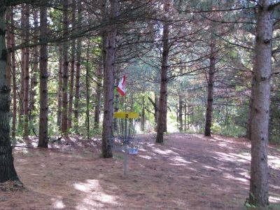 Christie Lake Conservation Area, Main course, Hole 2 Putt