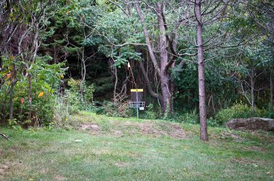 Christie Lake Conservation Area, Main course, Hole 5 Midrange approach