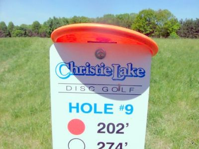 Christie Lake Conservation Area, Main course, Hole 9 Short tee pad
