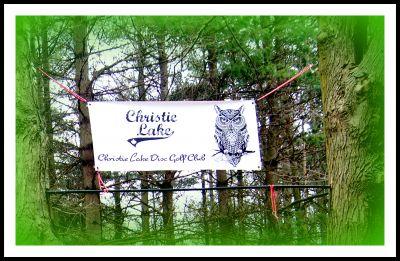 Christie Lake Conservation Area, Main course, Hole 14 Hole sign