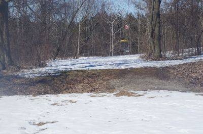 Christie Lake Conservation Area, Main course, Hole 8 Short tee pad