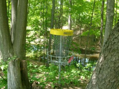 Christie Lake Conservation Area, Main course, Hole 17 Reverse (back up the fairway)