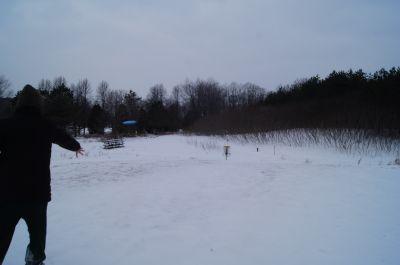 Christie Lake Conservation Area, Main course, Hole 9