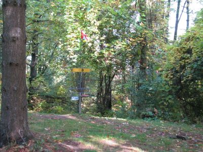 Christie Lake Conservation Area, Main course, Hole 3 Putt