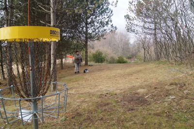 Christie Lake Conservation Area, Main course, Hole 5 Putt