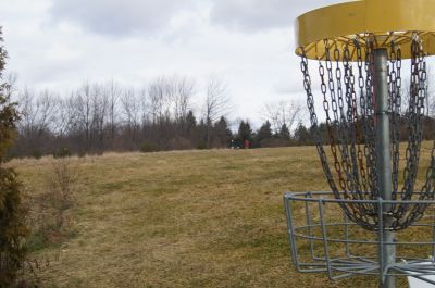 Christie Lake Conservation Area, Main course, Hole 6 Reverse (back up the fairway)