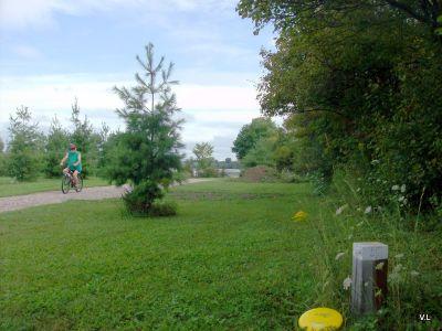 Rideau Acres, Main course, Hole 5 Short tee pad