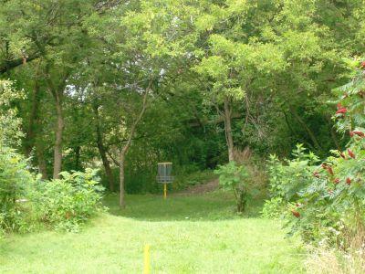 River's Edge at St. Julien's Park, Main course, Hole 14 Short approach