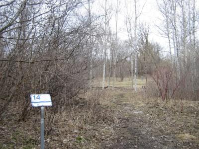 River's Edge at St. Julien's Park, Main course, Hole 14 Short tee pad