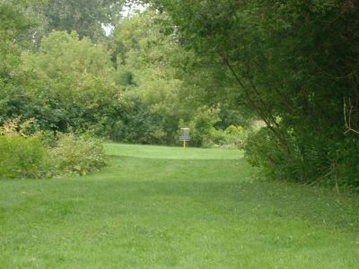 River's Edge at St. Julien's Park, Main course, Hole 13 Short approach